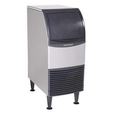 Scotsman CU0415MA-1 ice maker with bin, cube-style