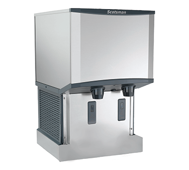 Scotsman HID525AW-1 ice maker dispenser, nugget-style