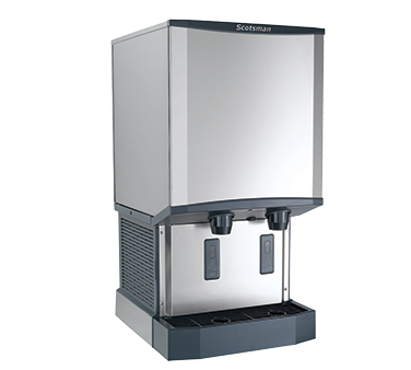 Scotsman HID540A-6 ice maker dispenser, nugget-style