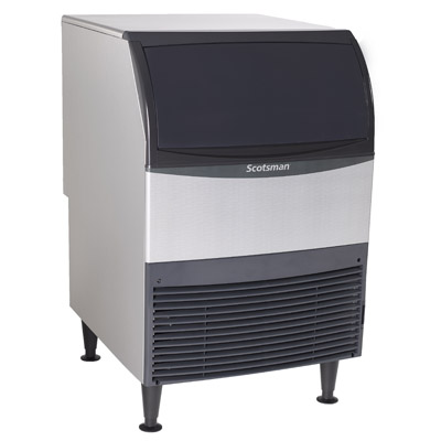 Scotsman UN324W-1 ice maker with bin, nugget-style