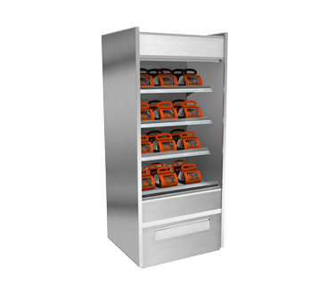 Structural Concepts B2432H display case, heated, floor model