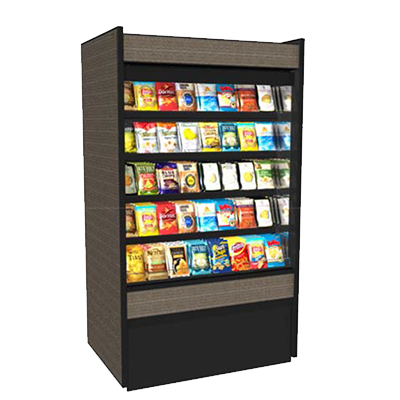 Structural Concepts B7132D display case, non-refrigerated bakery