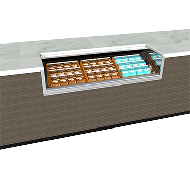 Structural Concepts CO33RM-UC milk cooler / station