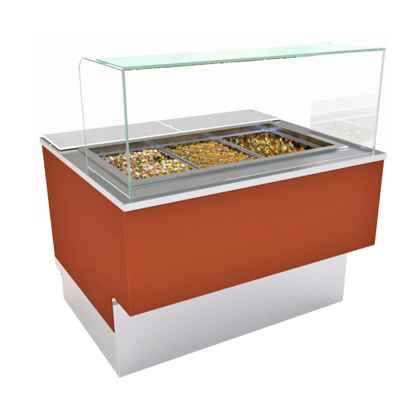 Structural Concepts FB6S-5R serving counter, cold food