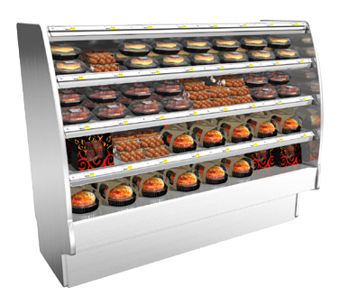 Structural Concepts GHSS660H display case, heated deli, floor model