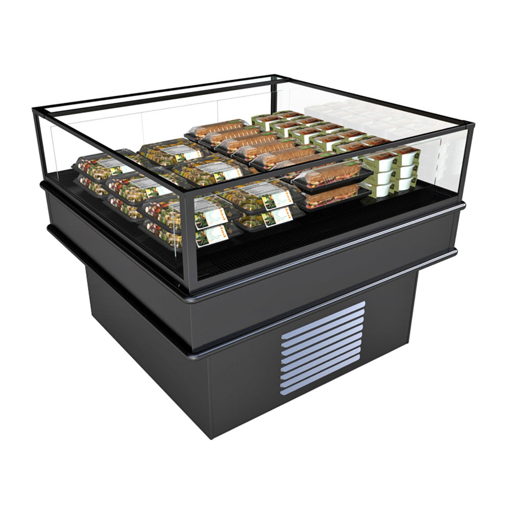 Structural Concepts MI45R merchandiser, open refrigerated display