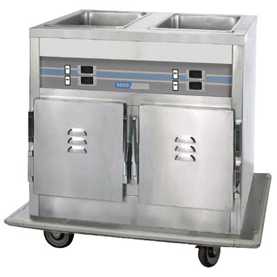 APW Wyott CW-4 cold food well unit, drop-in, refrigerated