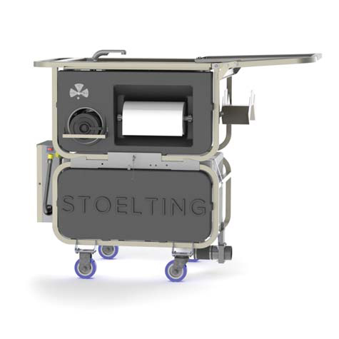 Stoelting CIPCART-2 cleaning system, portable