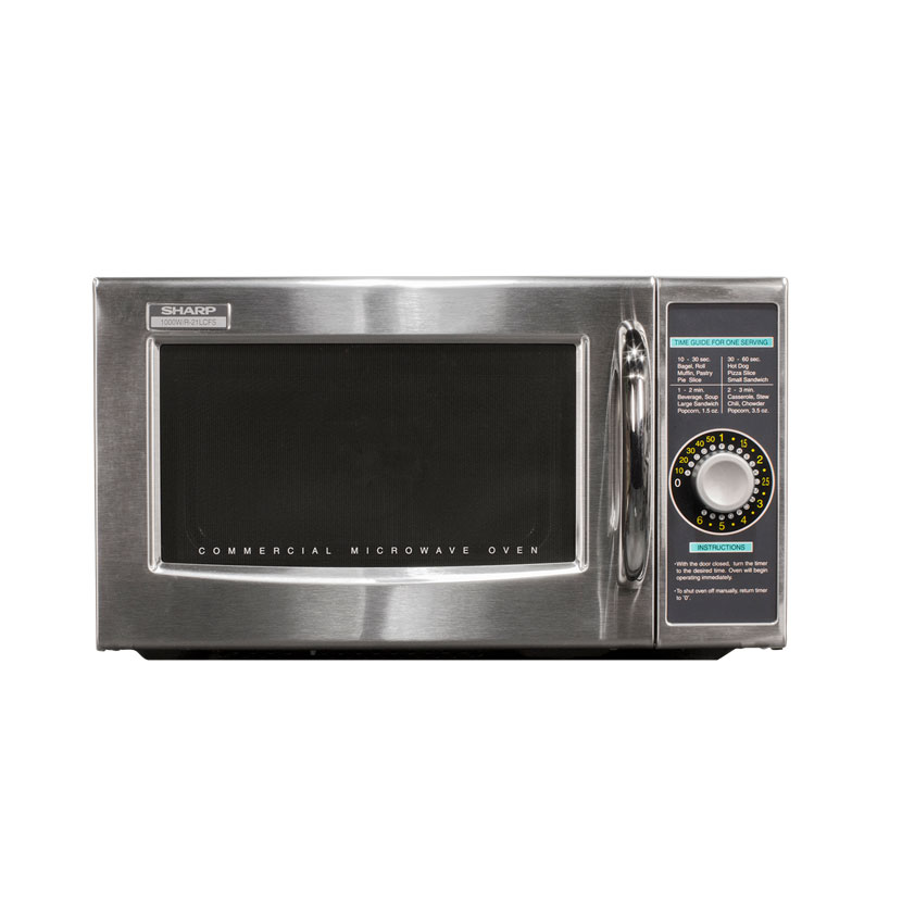 4975-42 Sharp R-21LCFS microwave oven