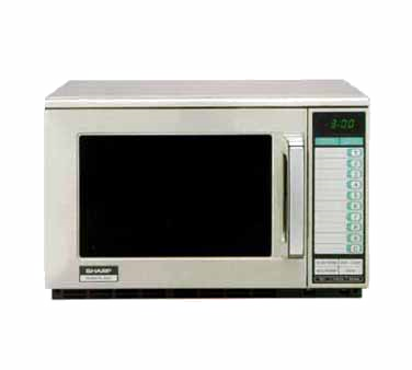 Sharp R-25JTF microwave oven