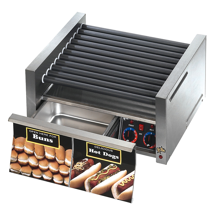 Star 30SCBD hot dog grill