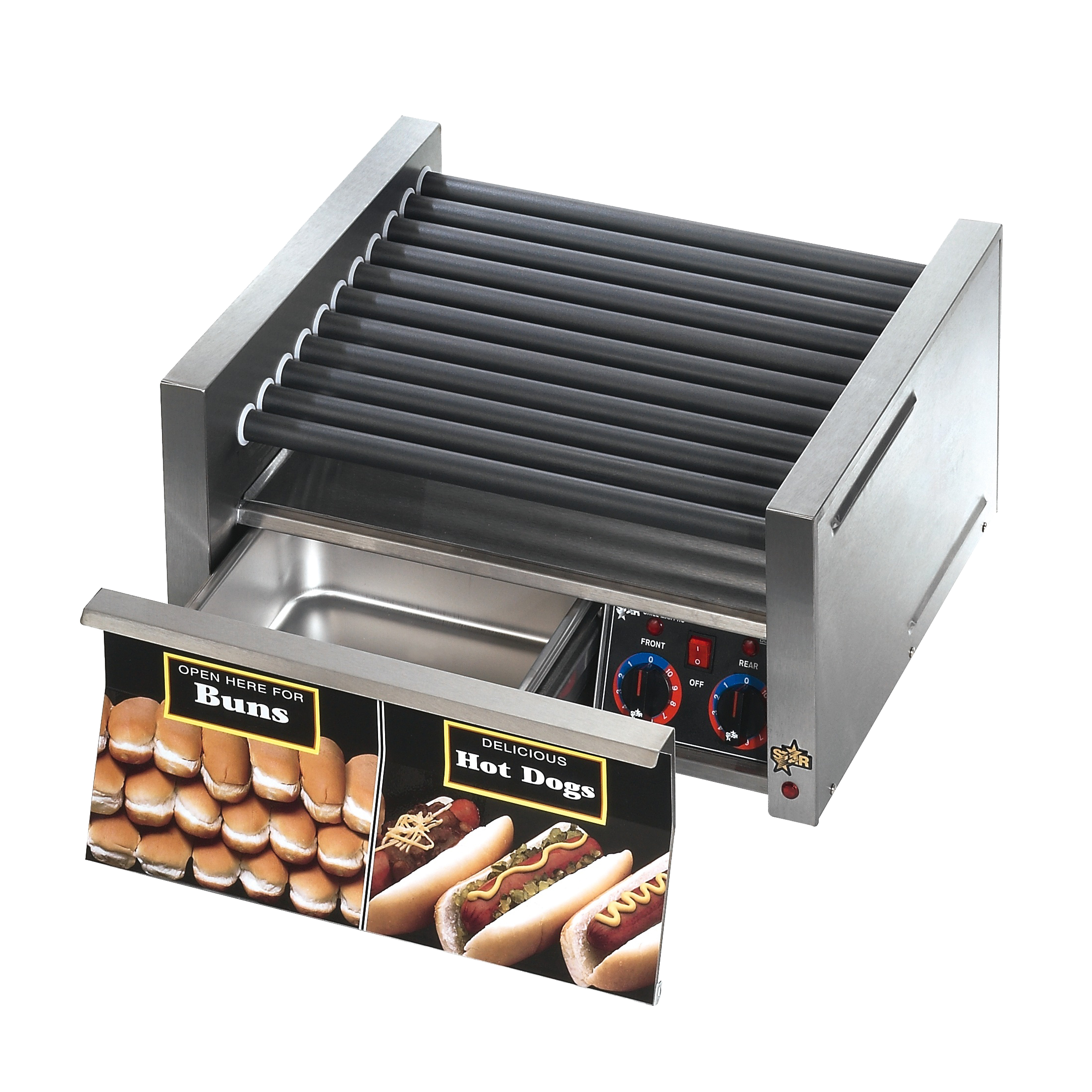 Star 30SCBDE hot dog grill