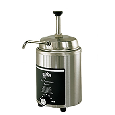 Star 4RW-P food topping warmer, countertop