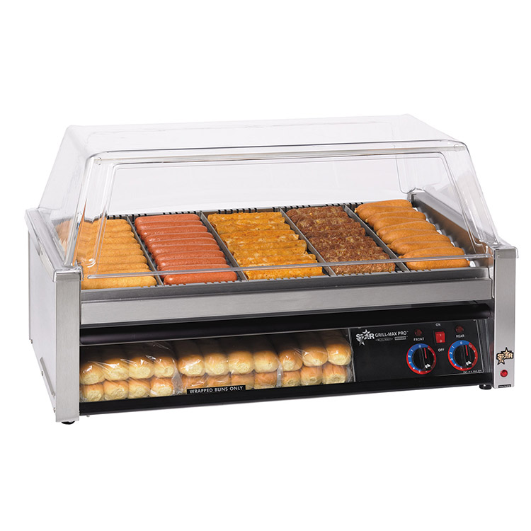 Star 50SCBBC hot dog grill
