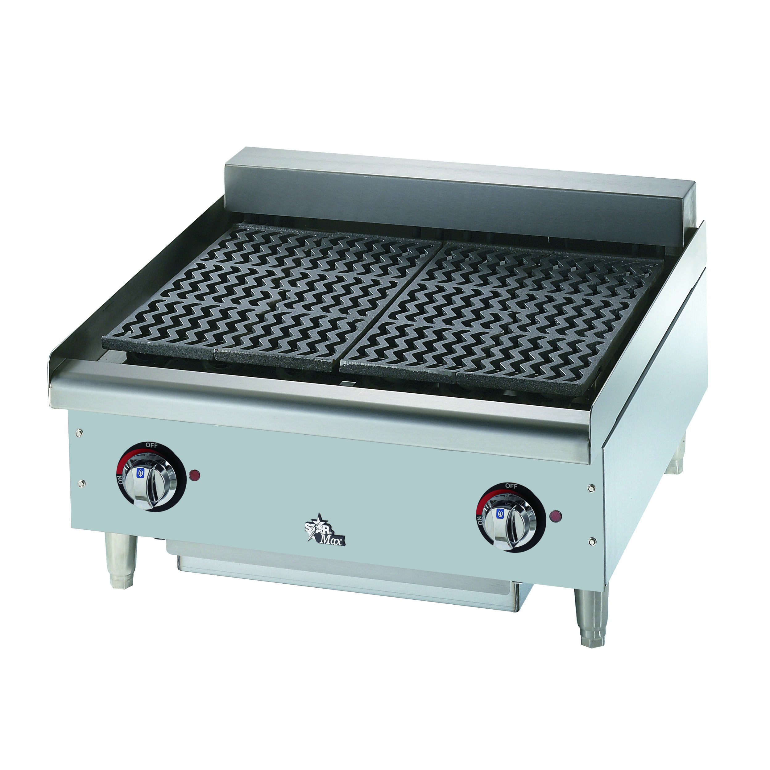 Star 5124CF charbroiler, electric, countertop