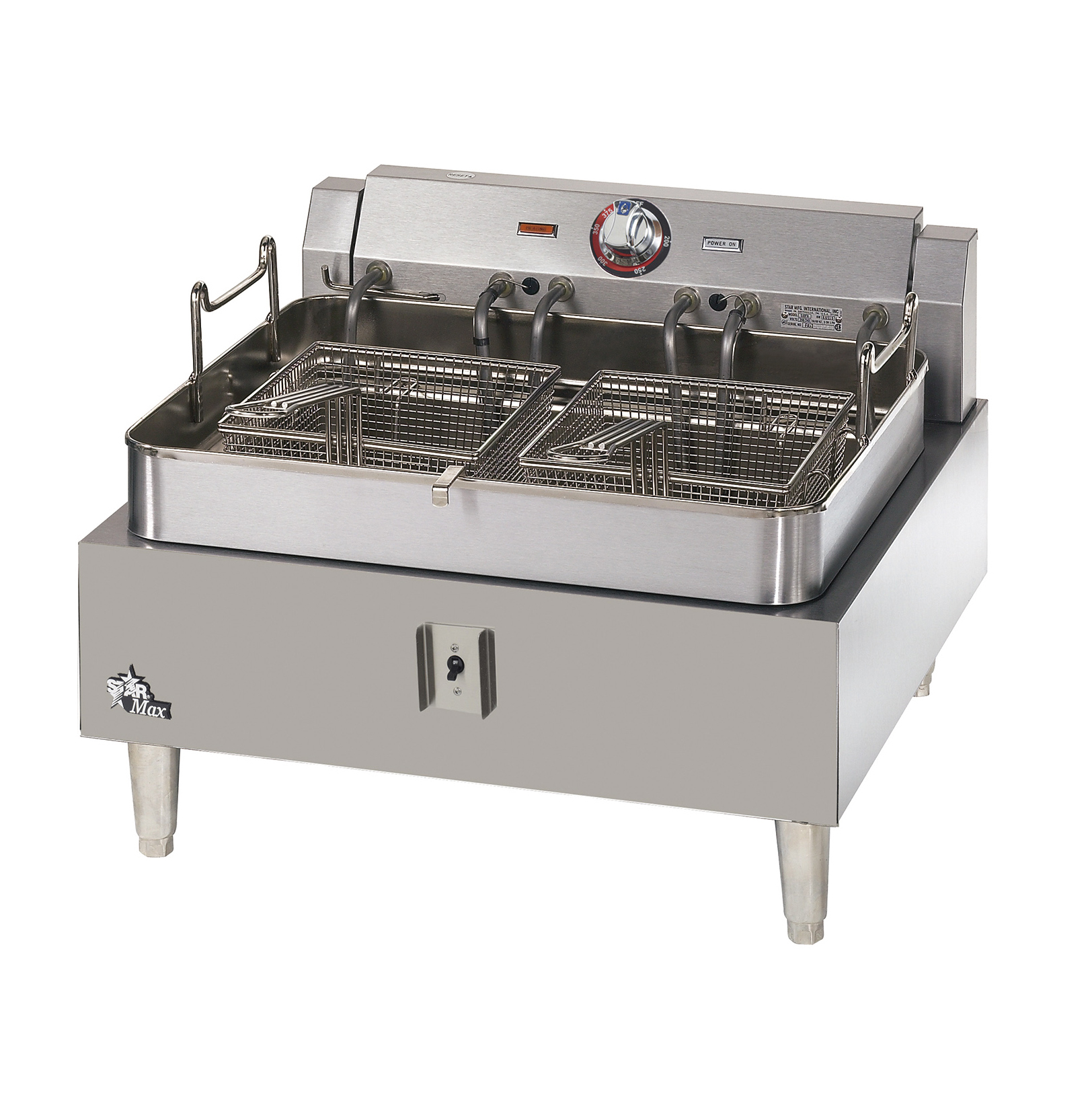 Star 530FF fryer, electric, countertop, full pot