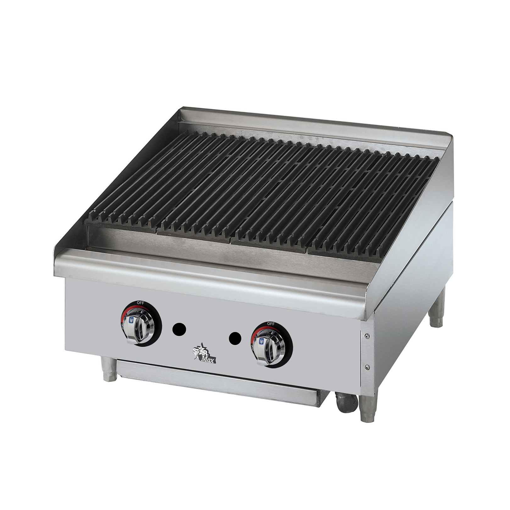 Star 6024CBF charbroiler, gas, countertop