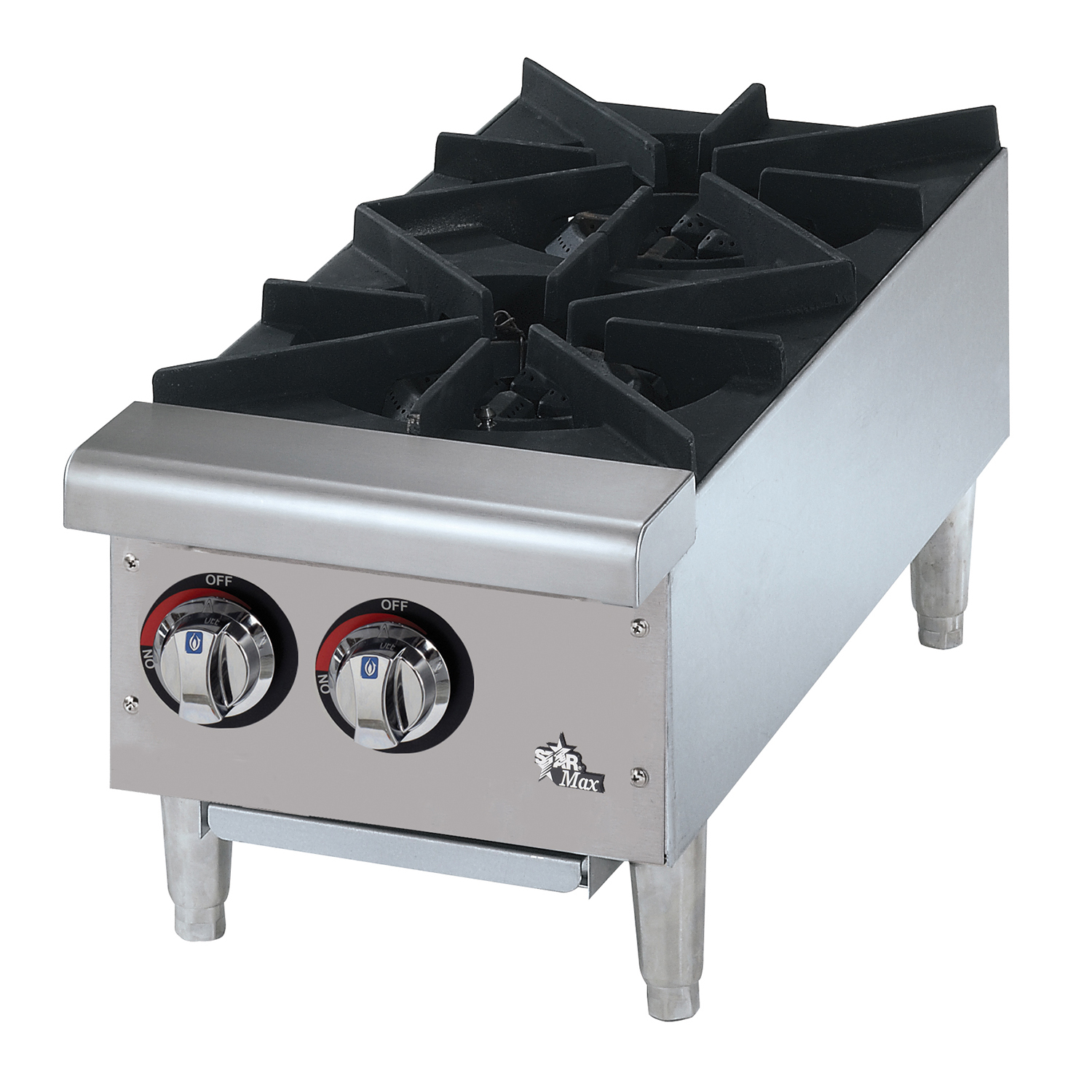 Star 602HF hotplate, countertop, gas