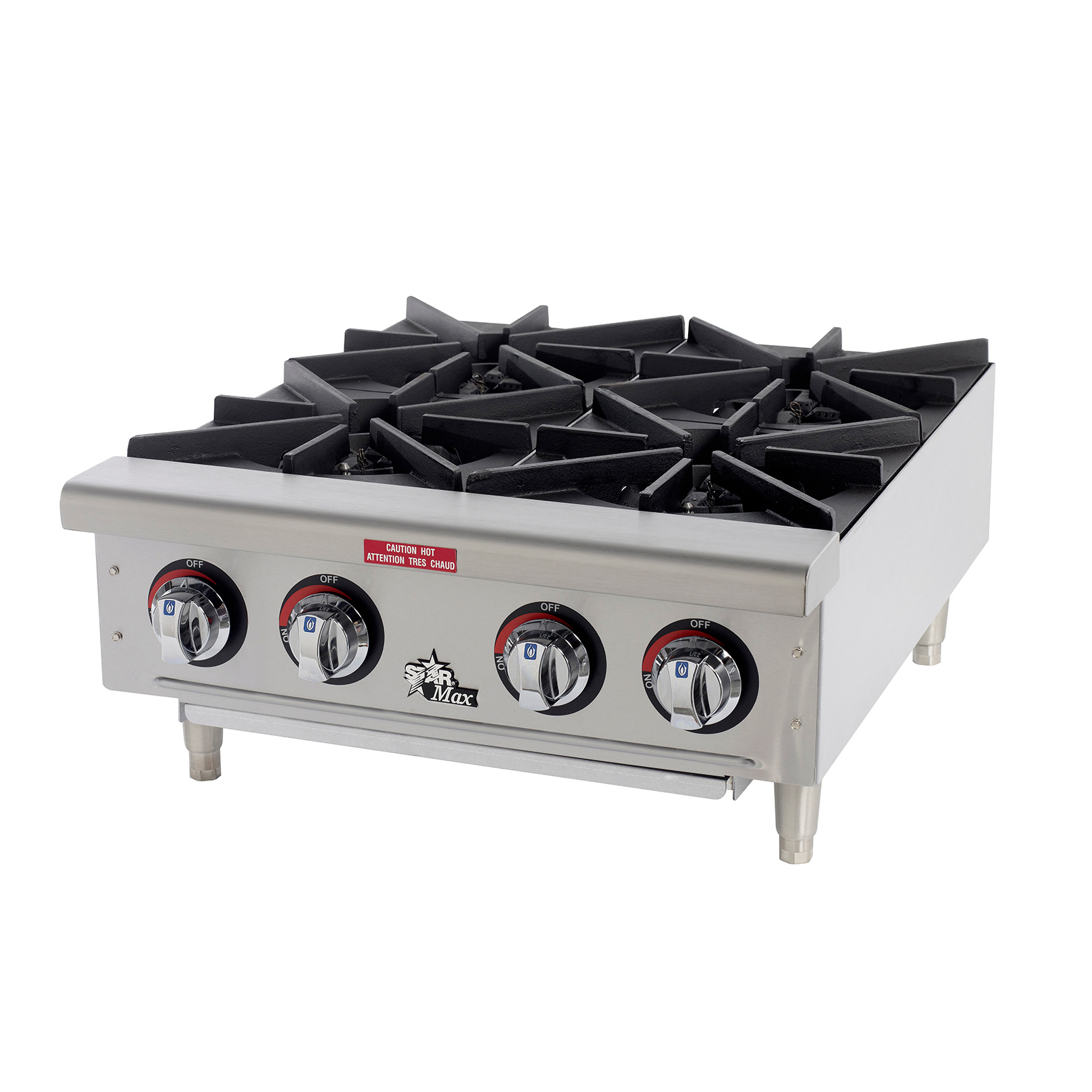 Star 604HF hotplate, countertop, gas