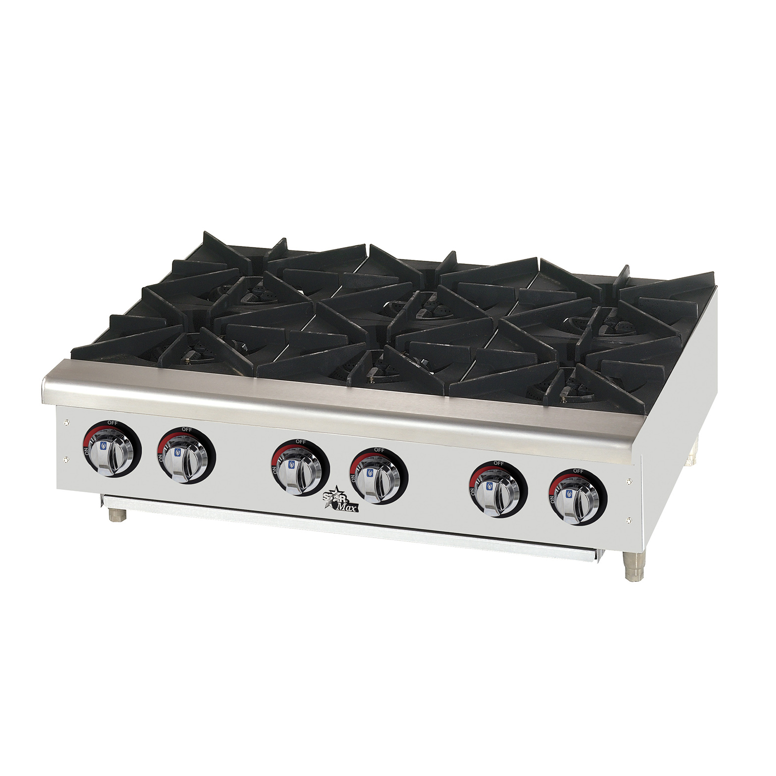 Star 606HF hotplate, countertop, gas