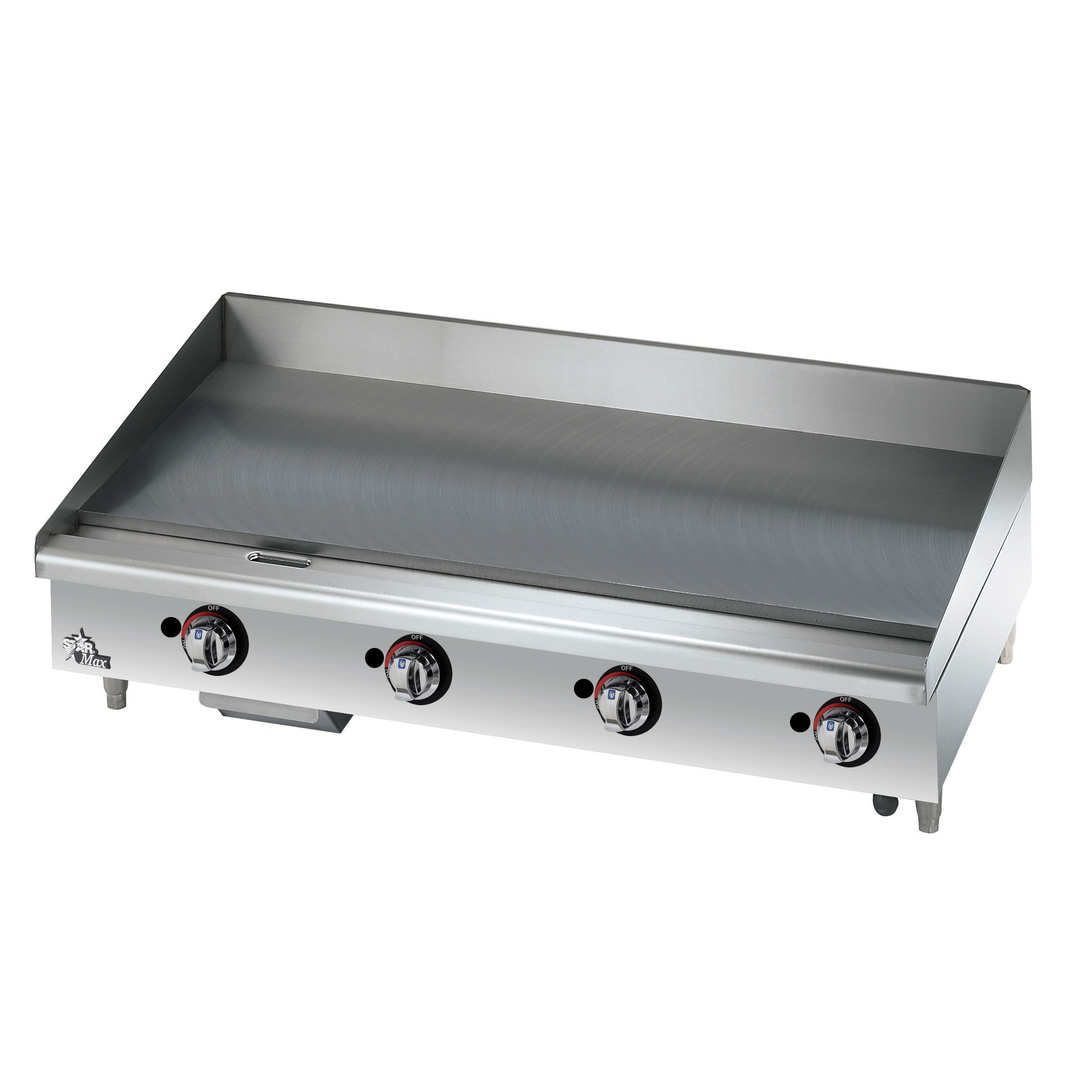 Star 648MF griddle, gas, countertop