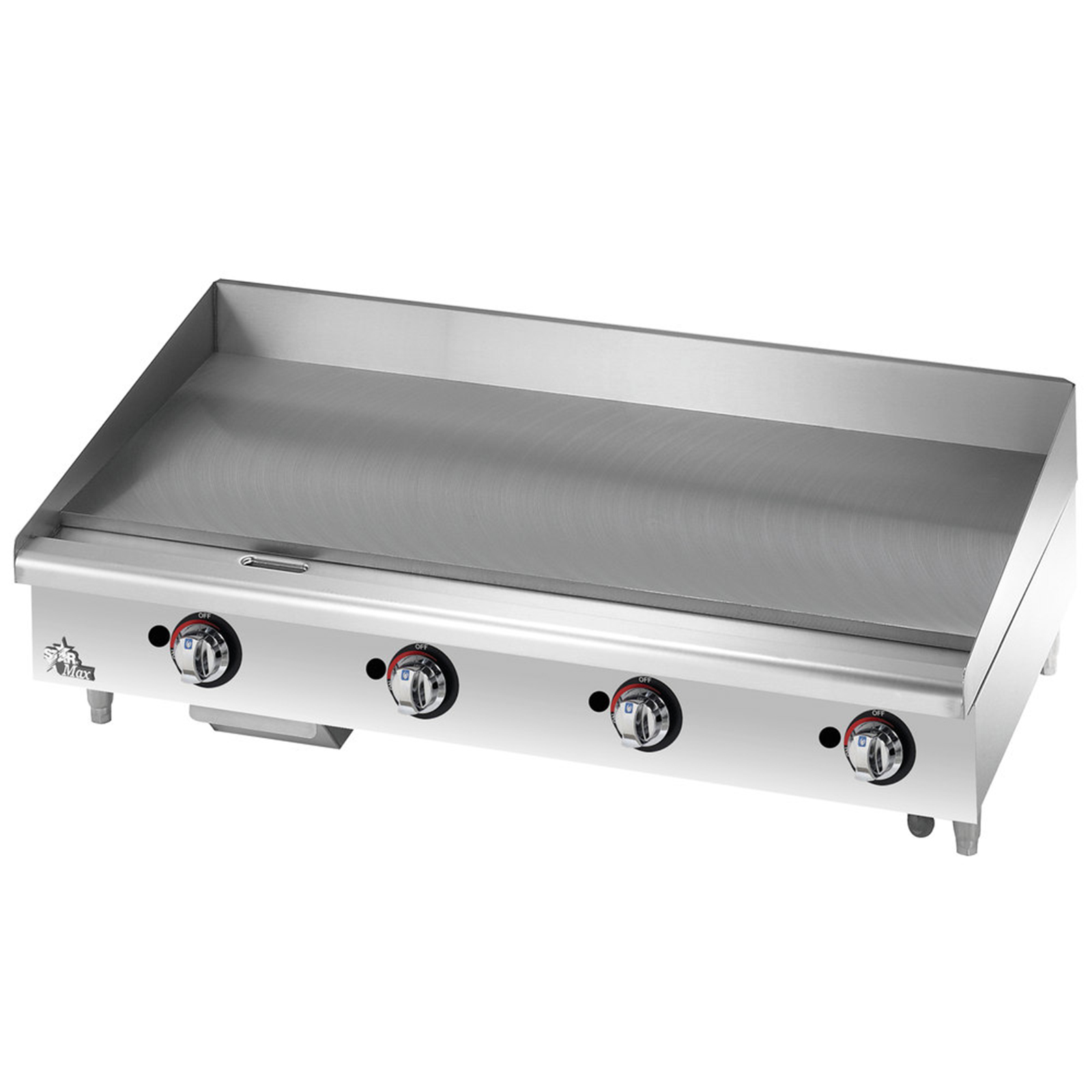 Star 648TF griddle, gas, countertop