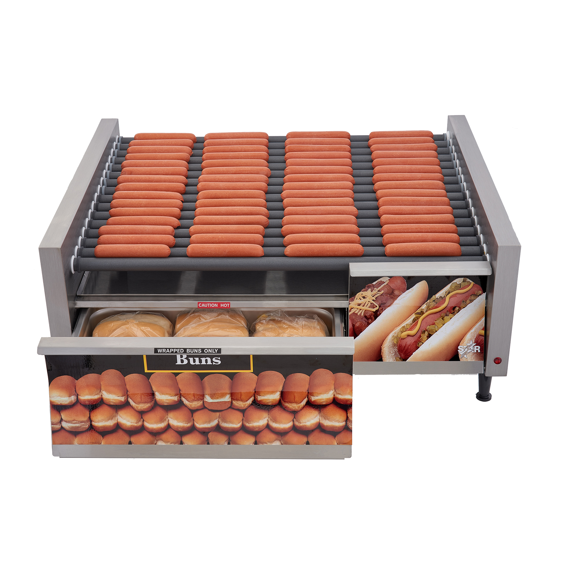 Star 75SCBDE hot dog grill