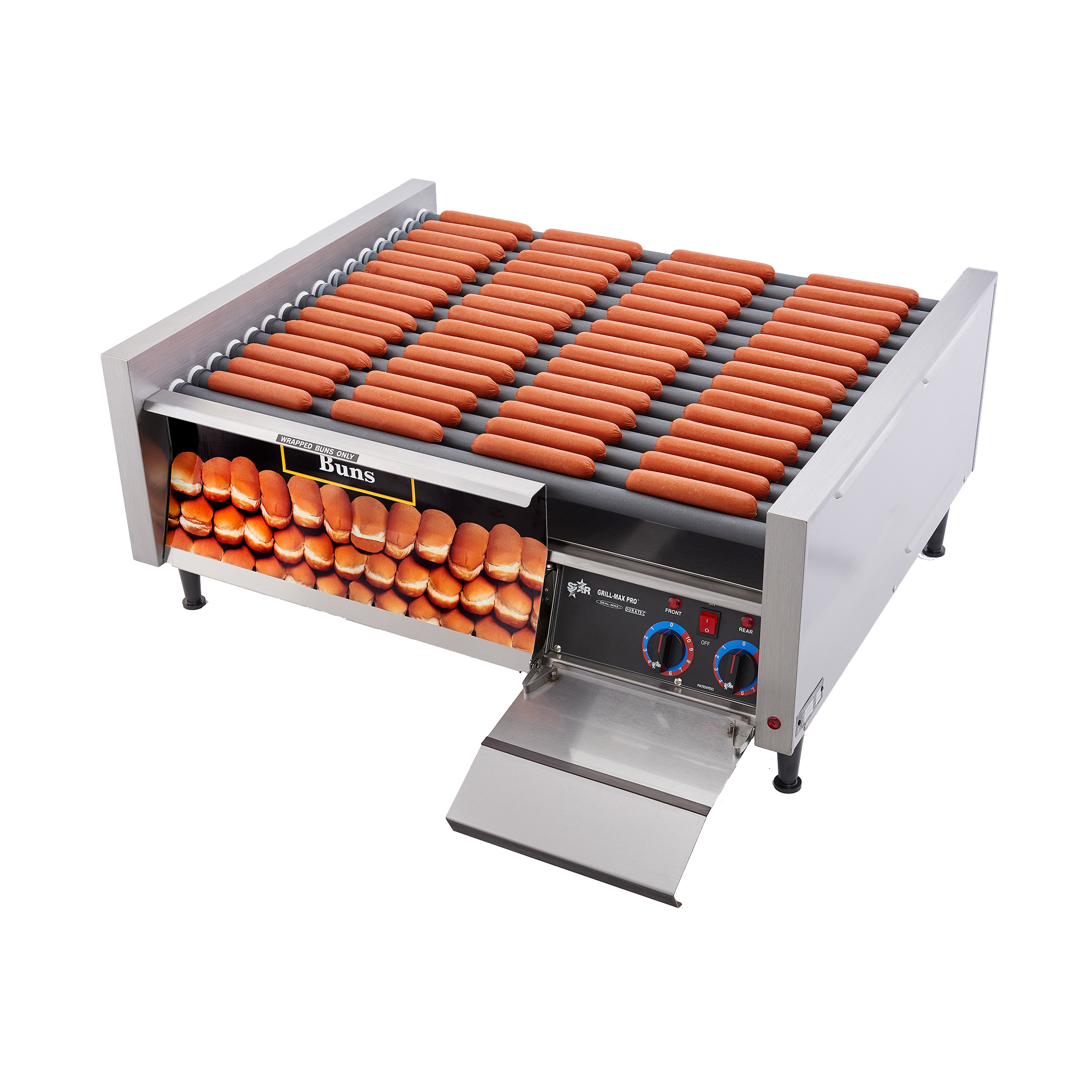 Star 75STBD hot dog grill
