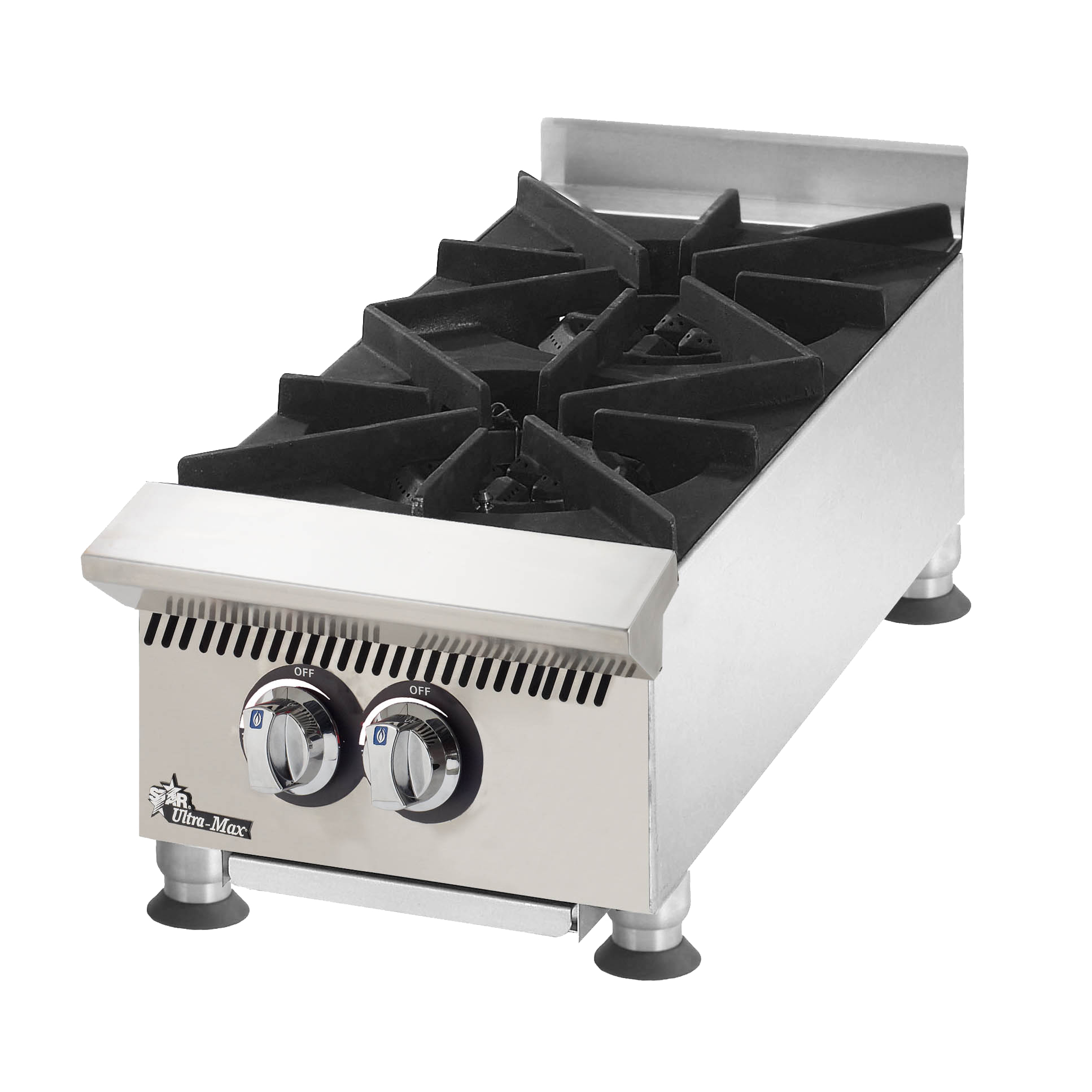 Star 802HA hotplate, countertop, gas