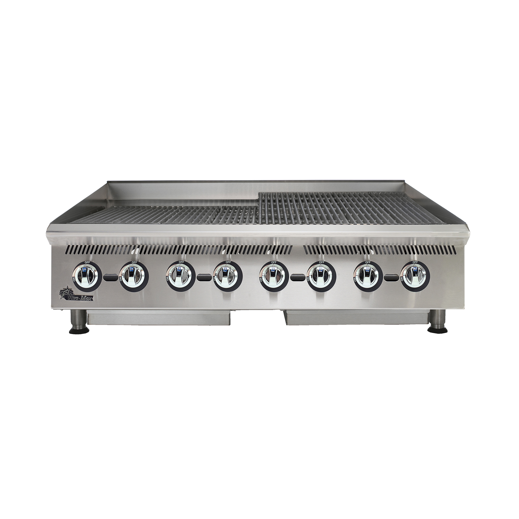 Star 8048CBB charbroiler, gas, countertop
