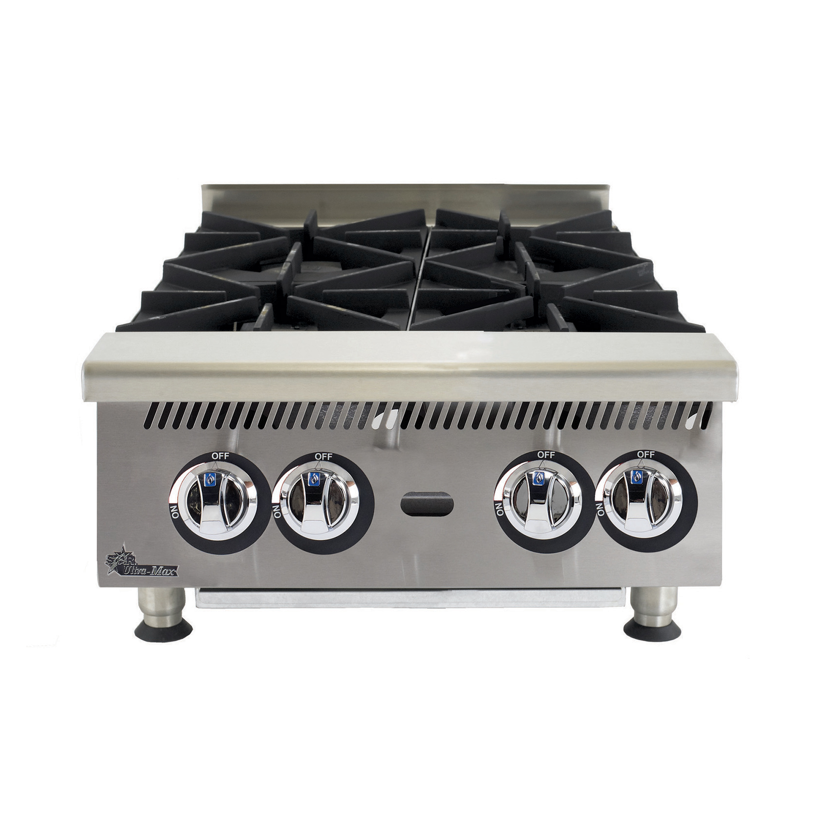 Star 804HA hotplate, countertop, gas