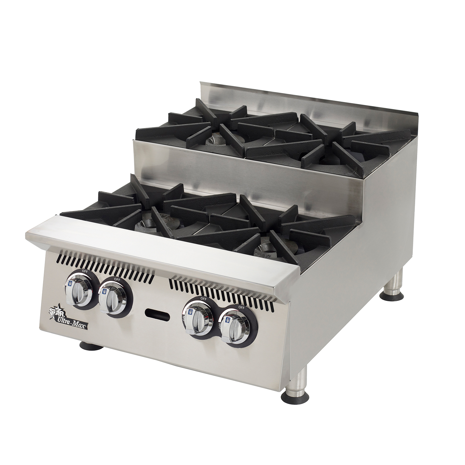 Star 804HA-SU hotplate, countertop, gas