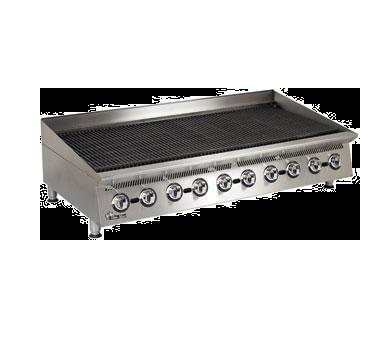 Star 8060CBB charbroiler, gas, countertop