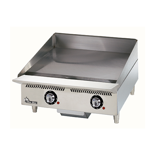 Star 824TA griddle, gas, countertop