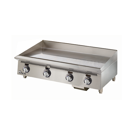Star 848MA griddle, gas, countertop