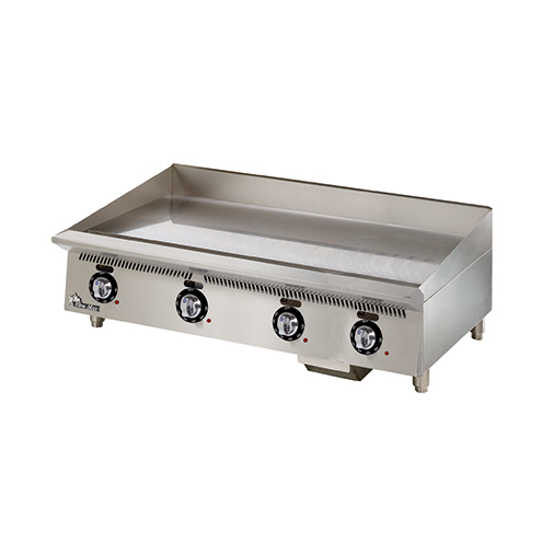Star 848TA griddle, gas, countertop