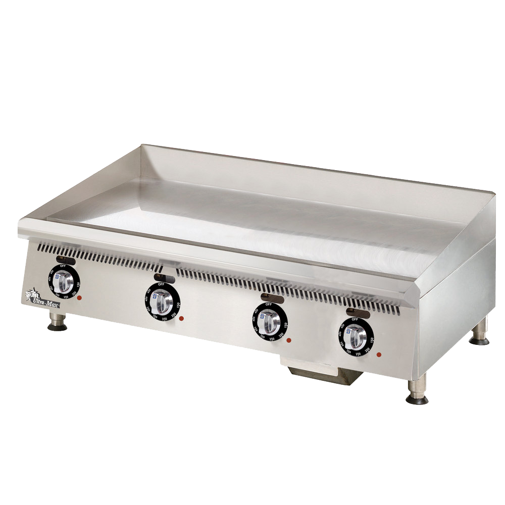 Star 848TCHSA griddle, gas, countertop