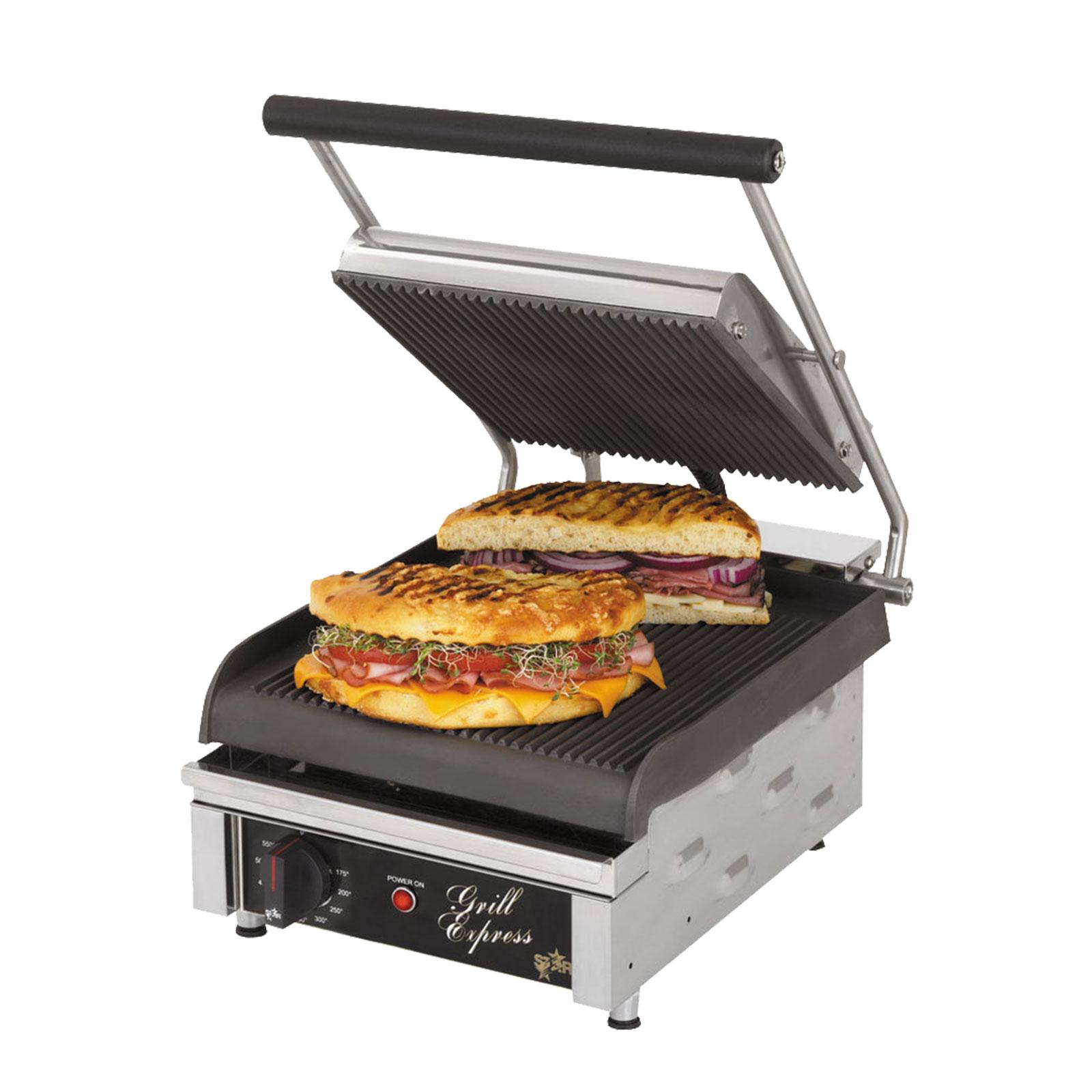 Star GX10IG sandwich / panini grill
