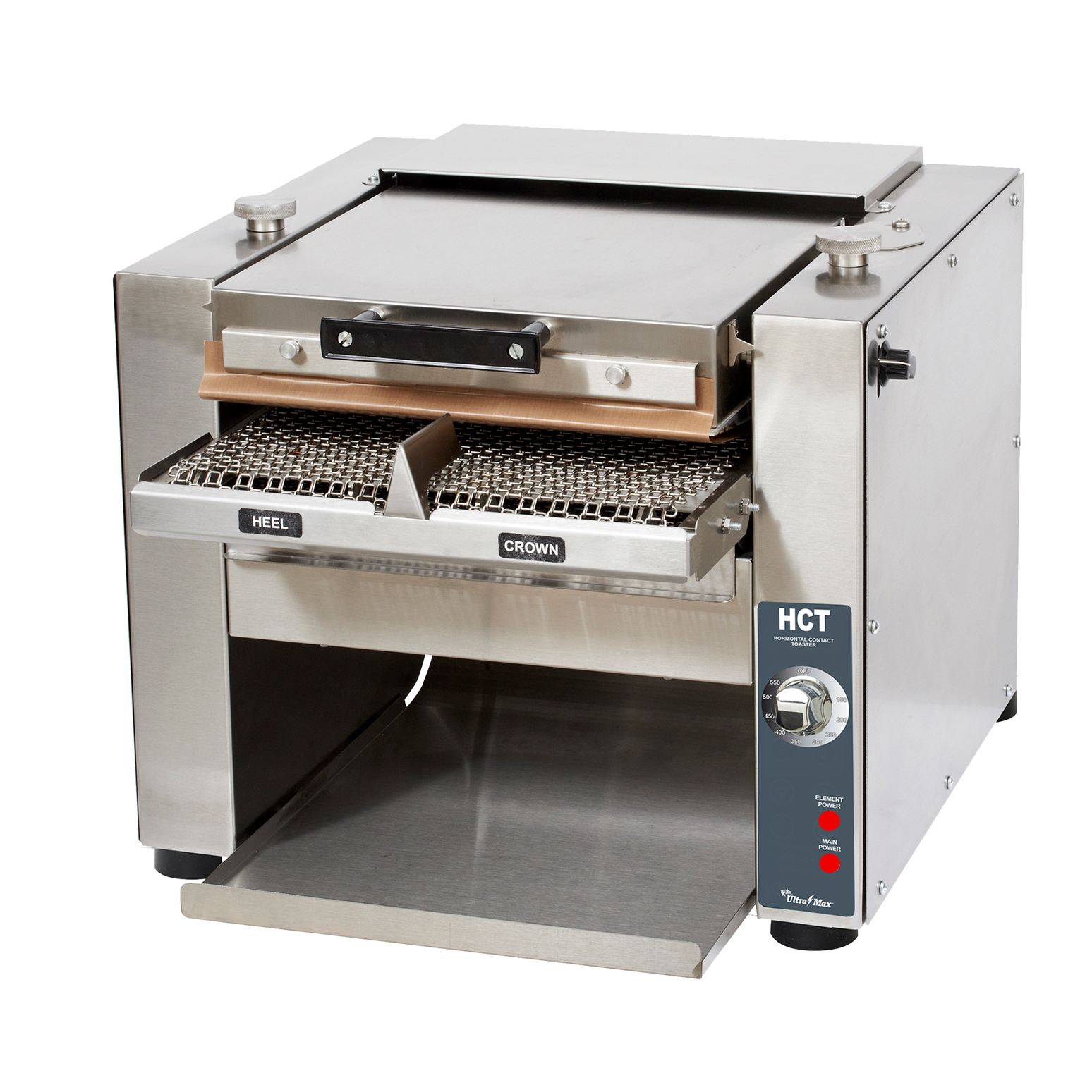 Star HCT13S toaster, contact grill, conveyor type