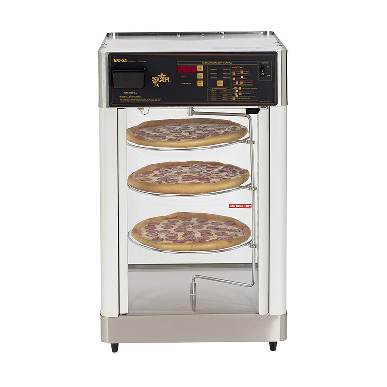 Star HFD-2A display case, hot food, countertop