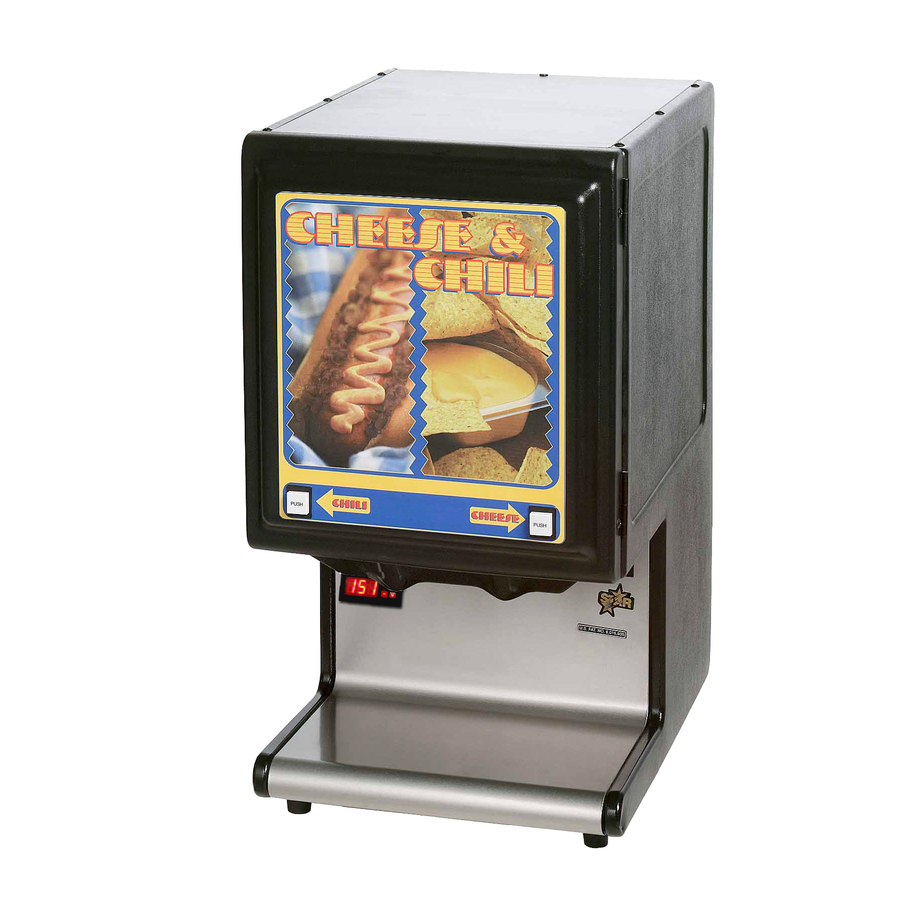 Star HPDE2HP hot food dispenser
