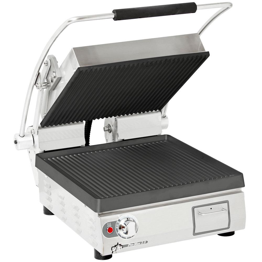 Star PGT14I sandwich / panini grill