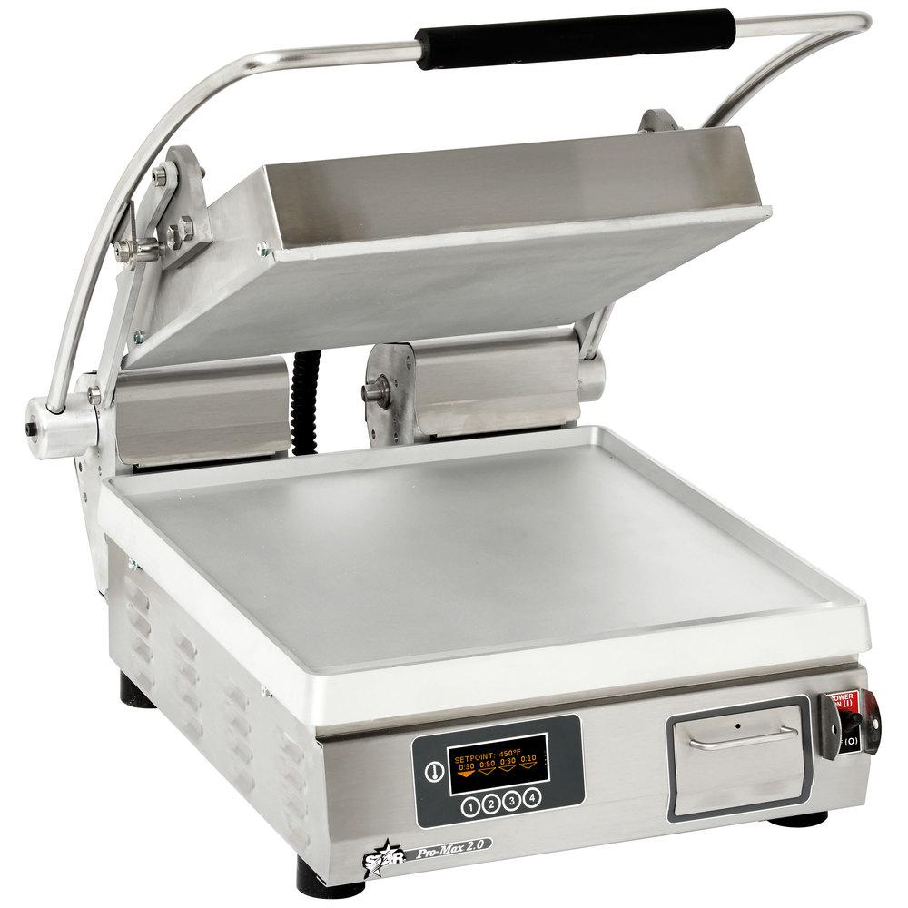 Star PST14E sandwich / panini grill