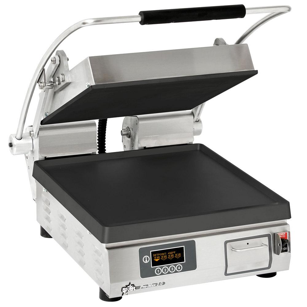 Star PST14IE sandwich / panini grill