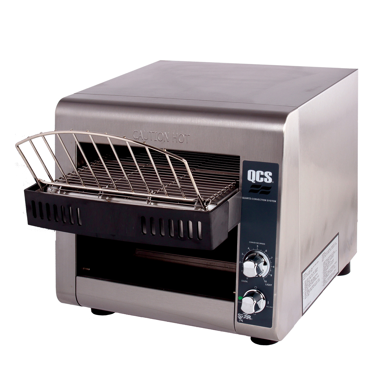 Star QCS1-350-120C toaster, conveyor type