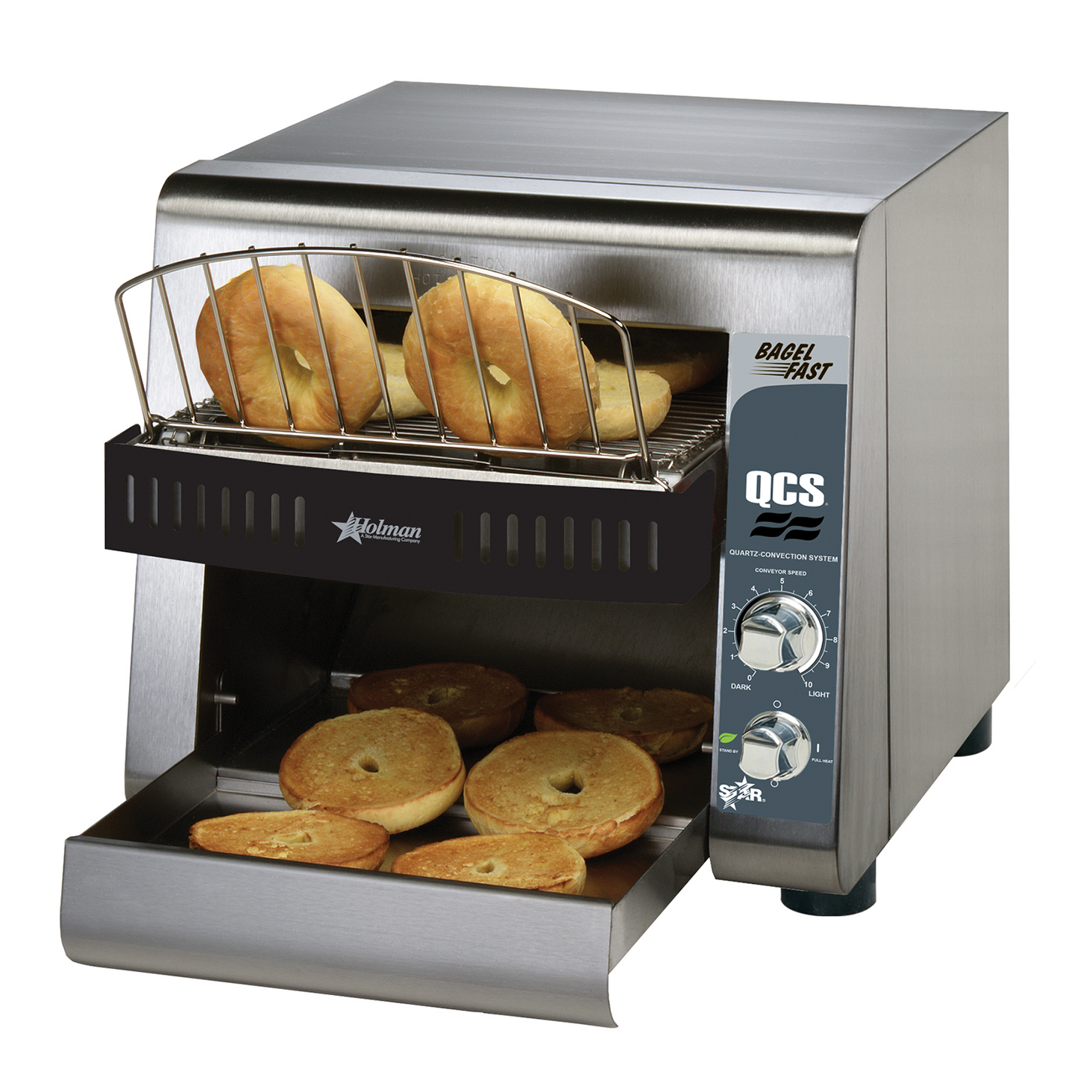 Star QCS1-500B toaster, conveyor type