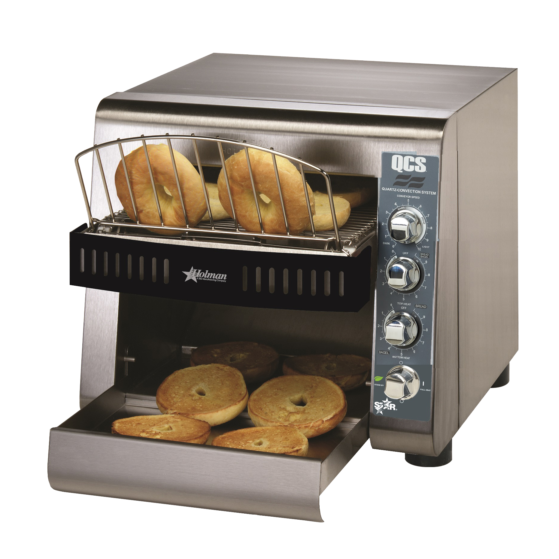 Star QCS2-1200B toaster, conveyor type