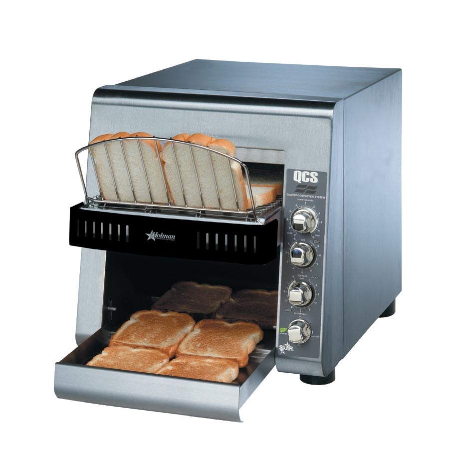 Star QCS2-800 toaster, conveyor type