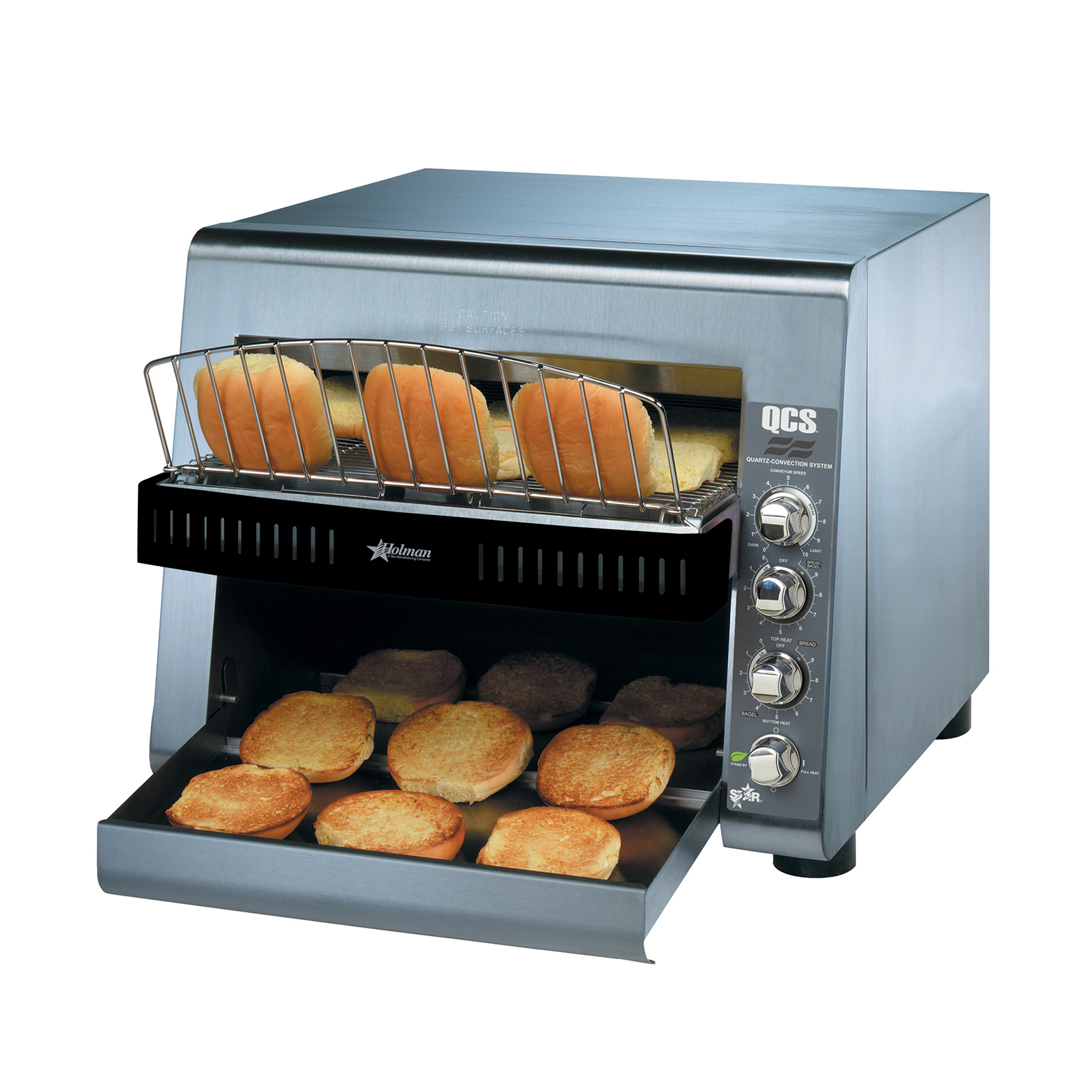 Star QCS3-1400BH toaster, conveyor type