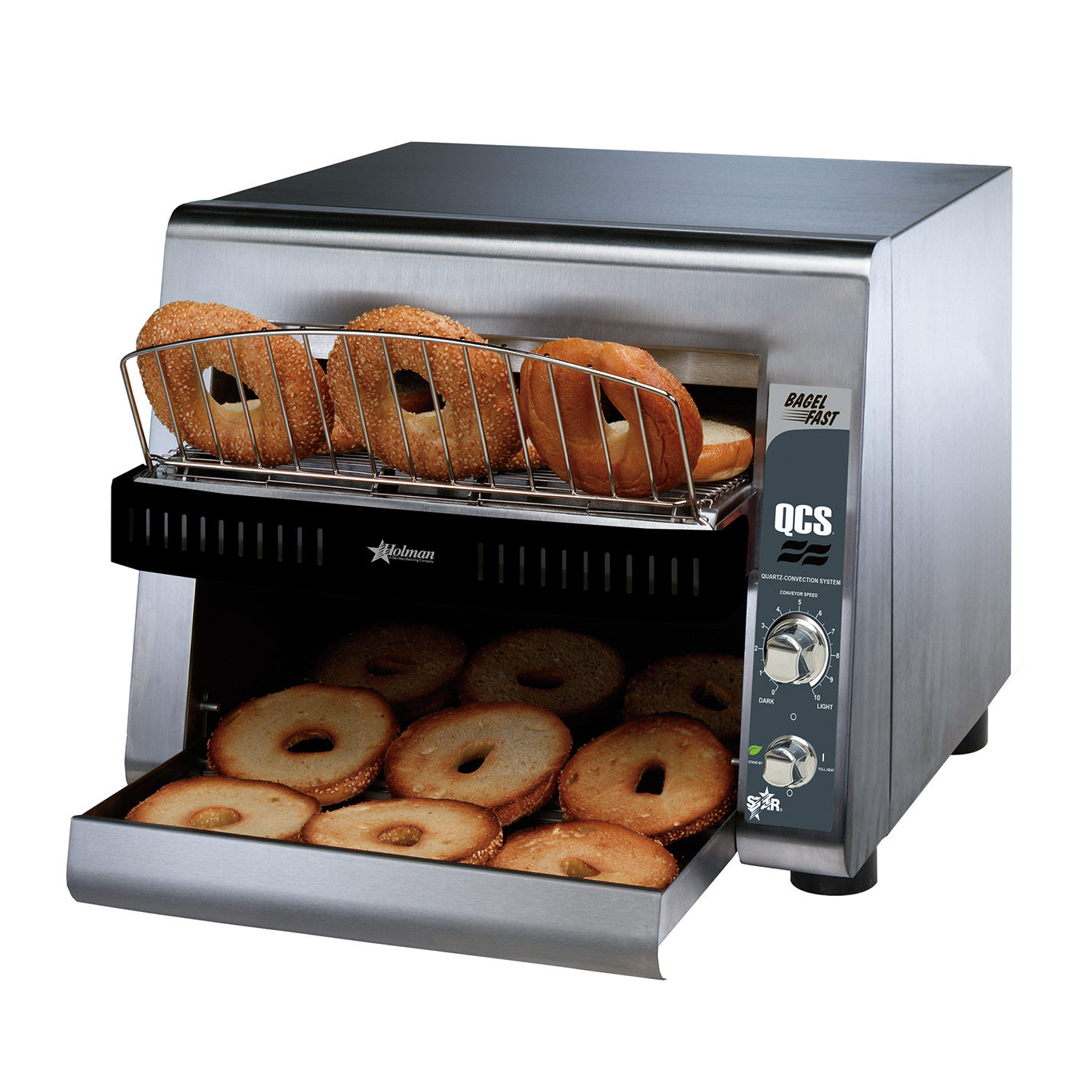 Star QCS3-1600B toaster, conveyor type